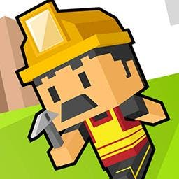Adventure craft - Match similar blocks within the allocated time to progress. - logo