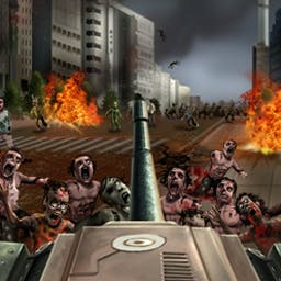 American Tank : Zombie Invasion - Roll out to save the city from a zombie outbreak in American Tank:  Zombie Invasion! - logo