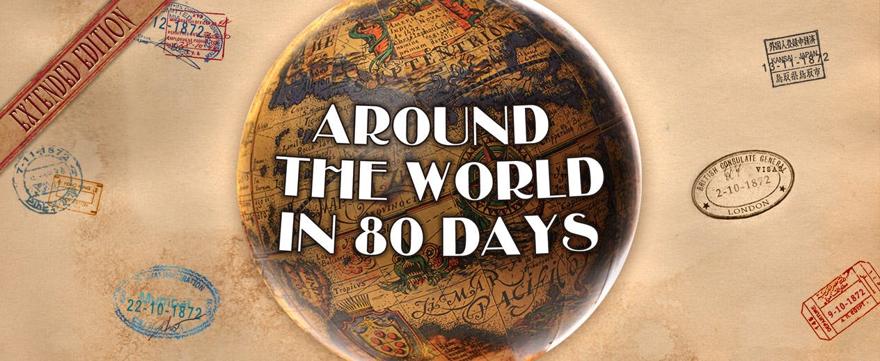 Around the World in 80 Days - Inspired by the famous book!