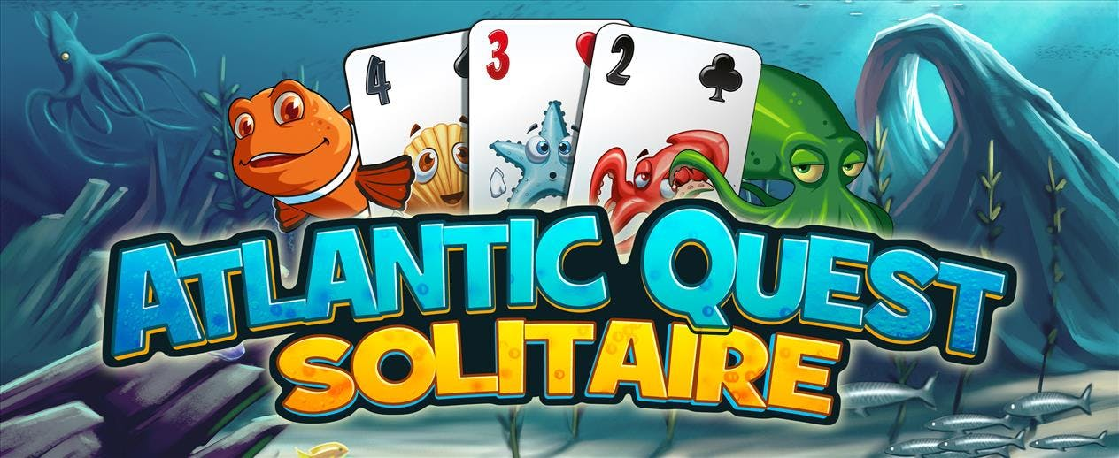 Atlantic Quest Solitaire - It's deep-sea solitaire!