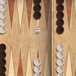 Backgammon - An ancient game of skill and strategy mixed with a little bit of luck, Backgammon is both simple and challenging. Play it FREE now! - logo