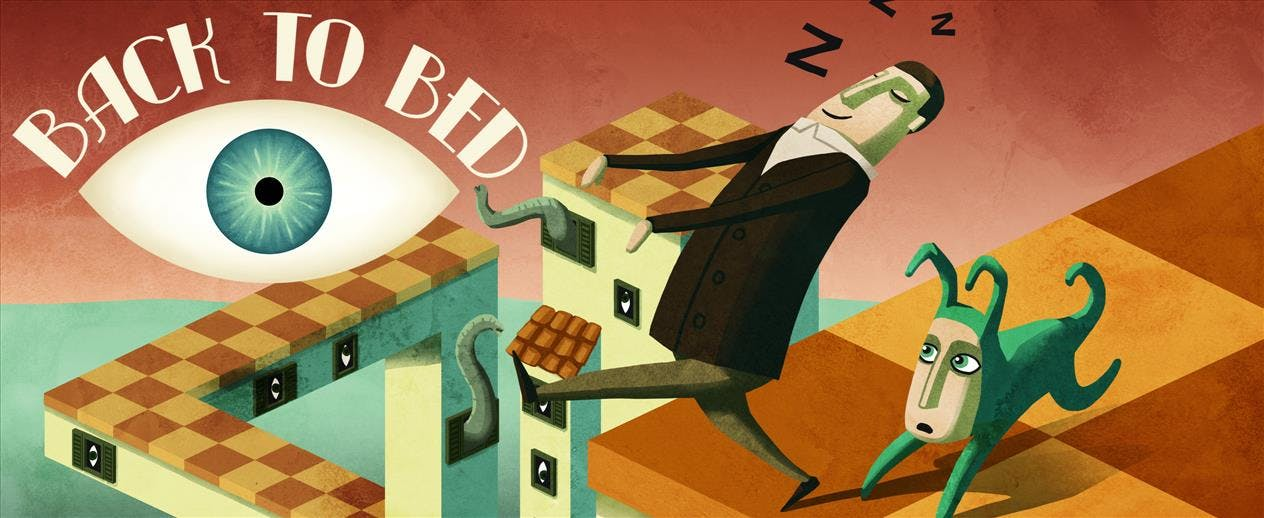 Back to Bed - A surreal, sleepy adventure!
