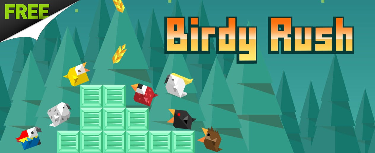 Birdy Rush - Run bird! Run!