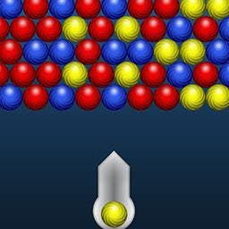 Bouncing Balls - Bouncing Balls is a FREE, classic, marble shooter game for you! Match 3 now. - logo