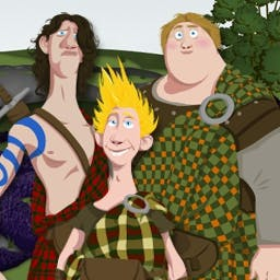 Brave: Highland Games - Pick your clan and compete in the Highland games! Play free online today! - logo