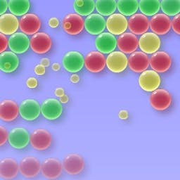 Bubblez - Bubblez is an easy, fun, and FREE matching game!  Clear the field of bubbles by matching three or more of the same color. - logo