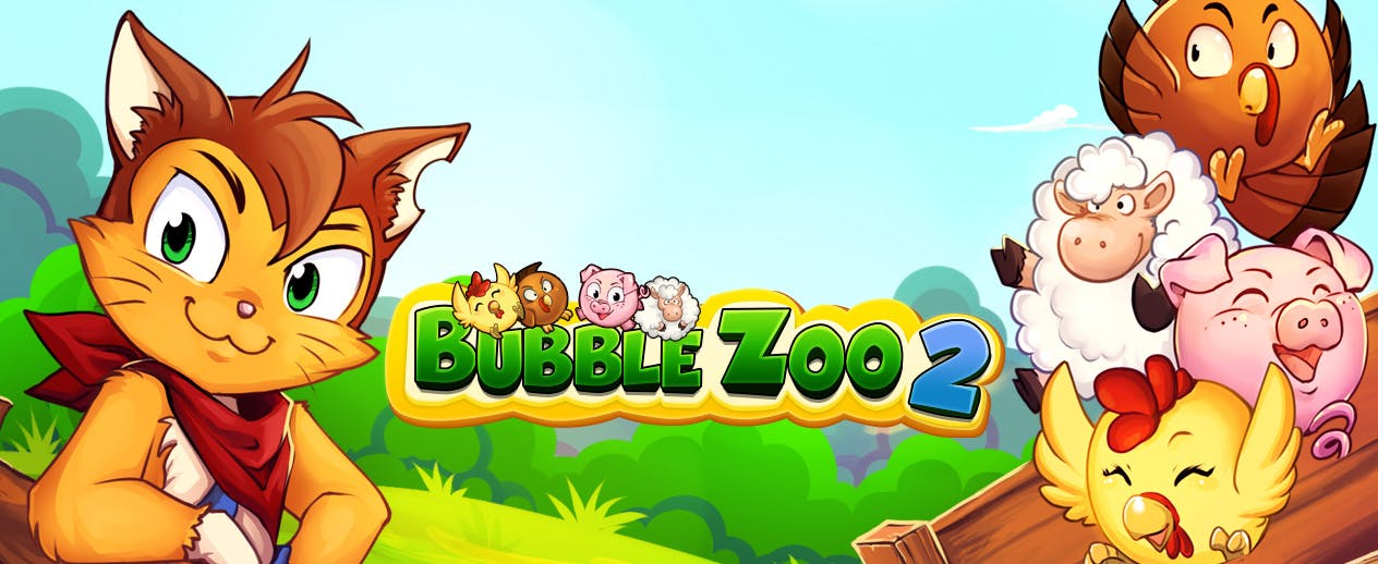 Bubble Zoo 2 - Shoot bubbles. Rescue animals!