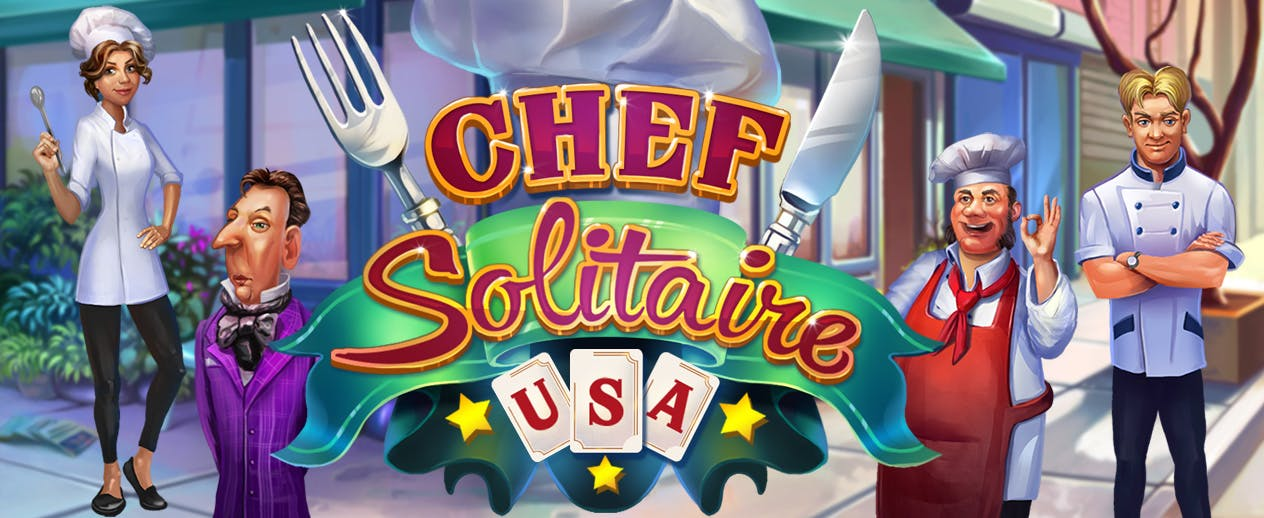 Chef Solitaire USA - Build your own franchise!