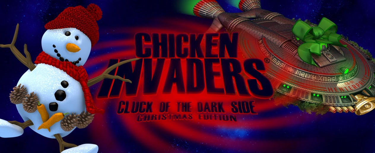 Chicken Invaders 5 Christmas Edition - Save Christmas Day!