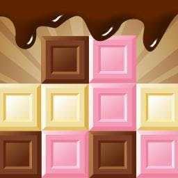 Chocoblocks - Click on groups of blocks to make them disappear in Chocoblocks, a FREE puzzle game! - logo