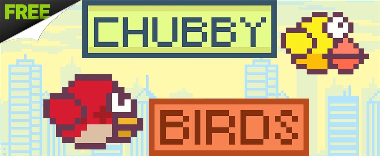 Chubby Birds - Fly as far as you can!