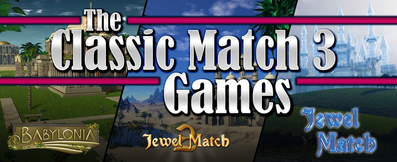 The Classic Match 3 Games - Get 3 match 3 games!