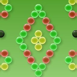 Clusterz! - Test our your bubble-shooting skills with Clusterz!, a free web game. Match bubble colors to clear the playing field! - logo