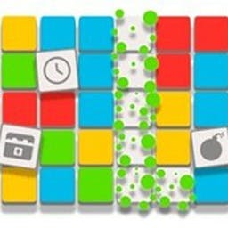 Colorpop - Tap and pop same-colored groups of blocks in this highly addictive Match 3 game! - logo