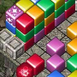 Cash Tournaments - Cubis - Clear the colored cubes to conquer the competition!  It's Cubis - a cash game! - logo
