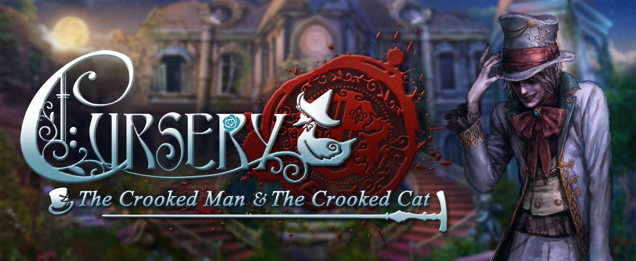 Cursery: The Crooked Man and the Crooked Cat - You've got to unravel the riddles!