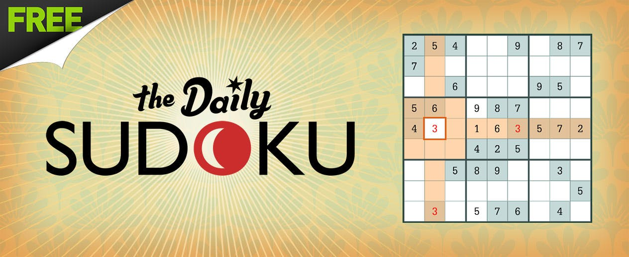 Daily Sudoku - Solve a new puzzle today!