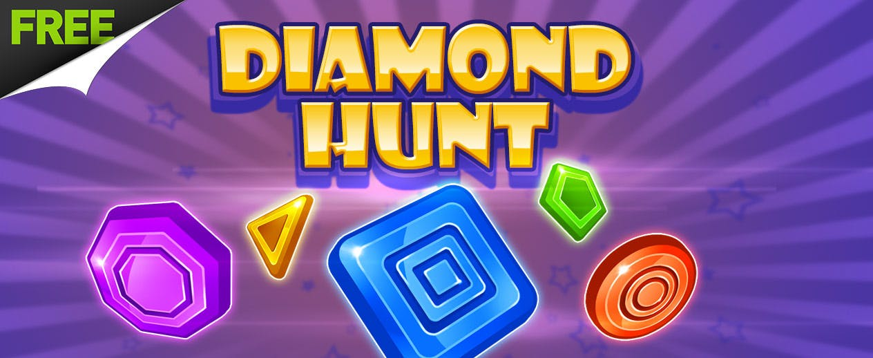 Diamond Hunt - A FREE puzzle game!