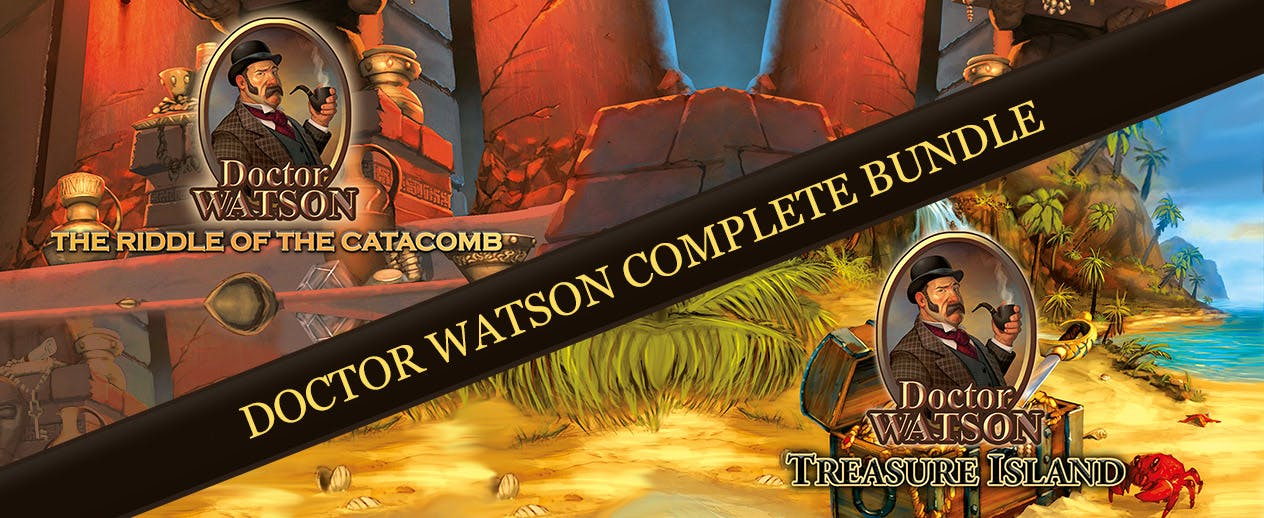 Doctor Watson Complete Bundle - Two amazing games for one amazing Price!