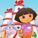 Dora Saves the Crystal Kingdom - logo