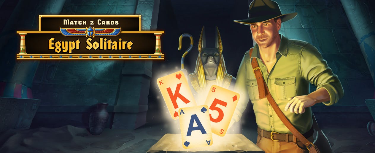 Egypt Solitaire: Match 2 Cards - What will you dig up?