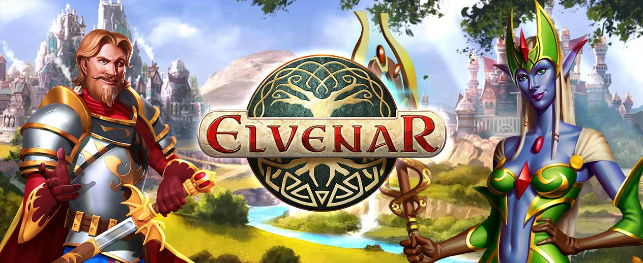 Elvenar - Will you choose elves or humans?