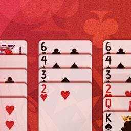 Freecell Solitaire - Stack the cards in ascending order in this classic card game. Play FreeCell Solitaire FREE! - logo