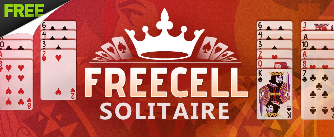 Freecell Solitaire - FREE classic card game!