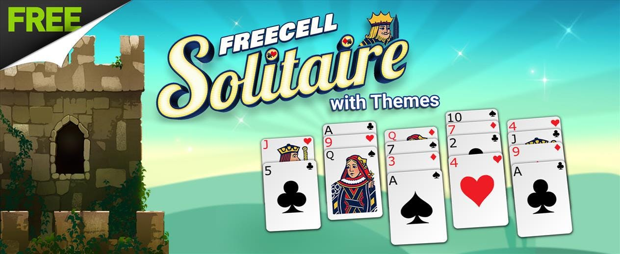FreeCell Solitaire with Themes - Pick a theme to make it YOUR game!