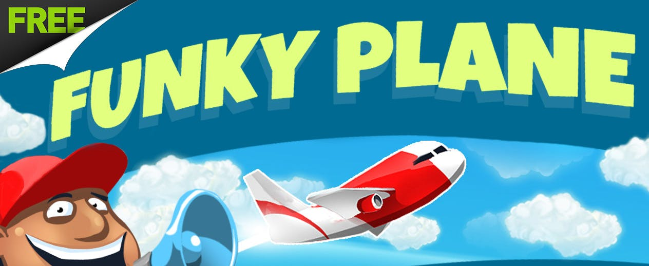 Funky Plane - A 60-second adventure!