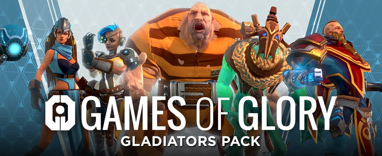 "Games of Glory - Gladiators Pack (Base Game + DLC Pack) - Become the ""Gladiator"" in Games of Glory"