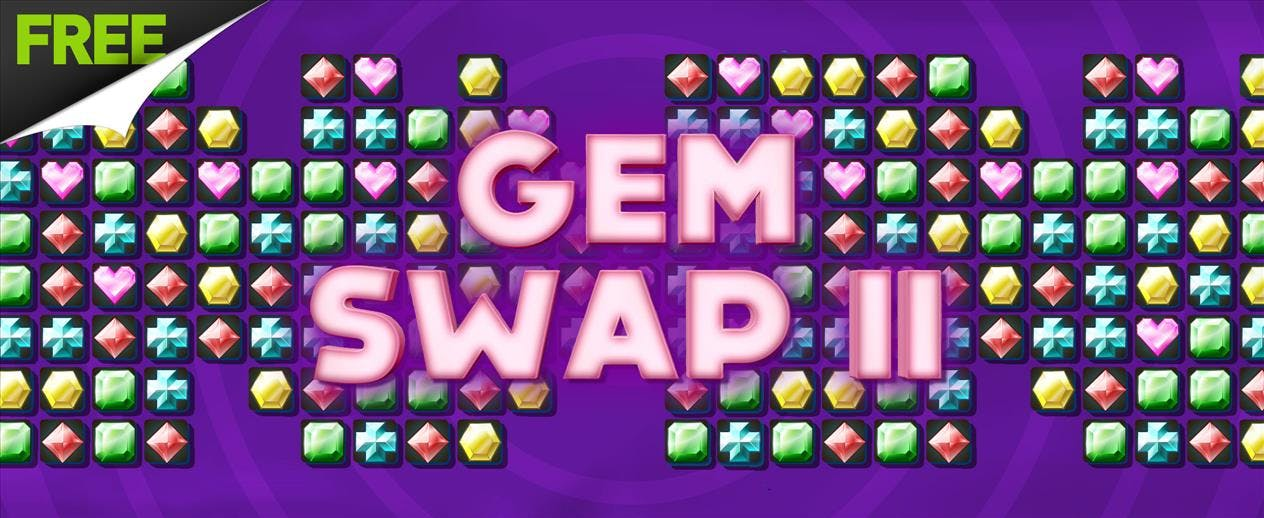 Gem Swap II - A FREE match 3 game!