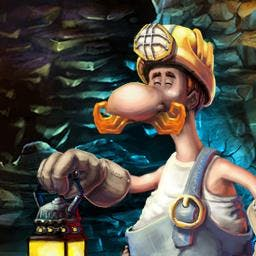 Gold Rush Treasure Hunt - Unearth a fortune in a fast, colorful challenge - Gold Rush Treasure Hunt! - logo
