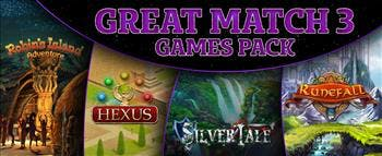 Great Match-3 Games Pack - image