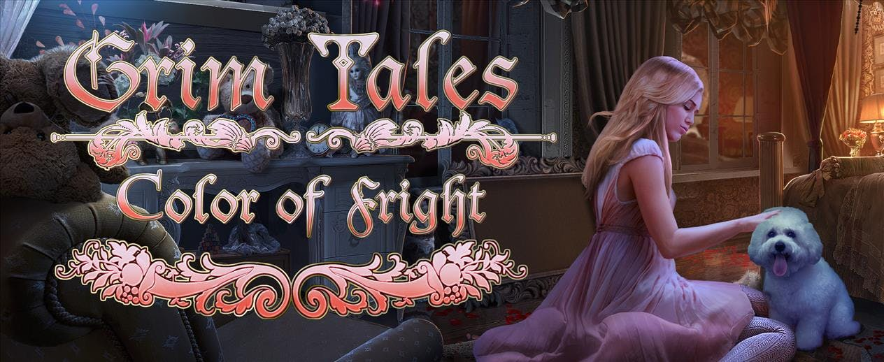 Grim Tales Color of Fright - Rescue your family!