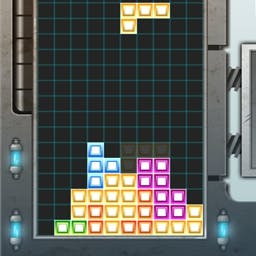 G Tris - Do you remember this one?  Fit the pieces together to make a line all the way across the screen in G-tris' classic puzzle gameplay! - logo