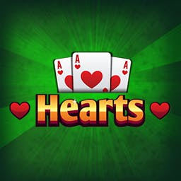 Hearts - Each Heart gives one point. Queen of Spades gives 13 points. - logo