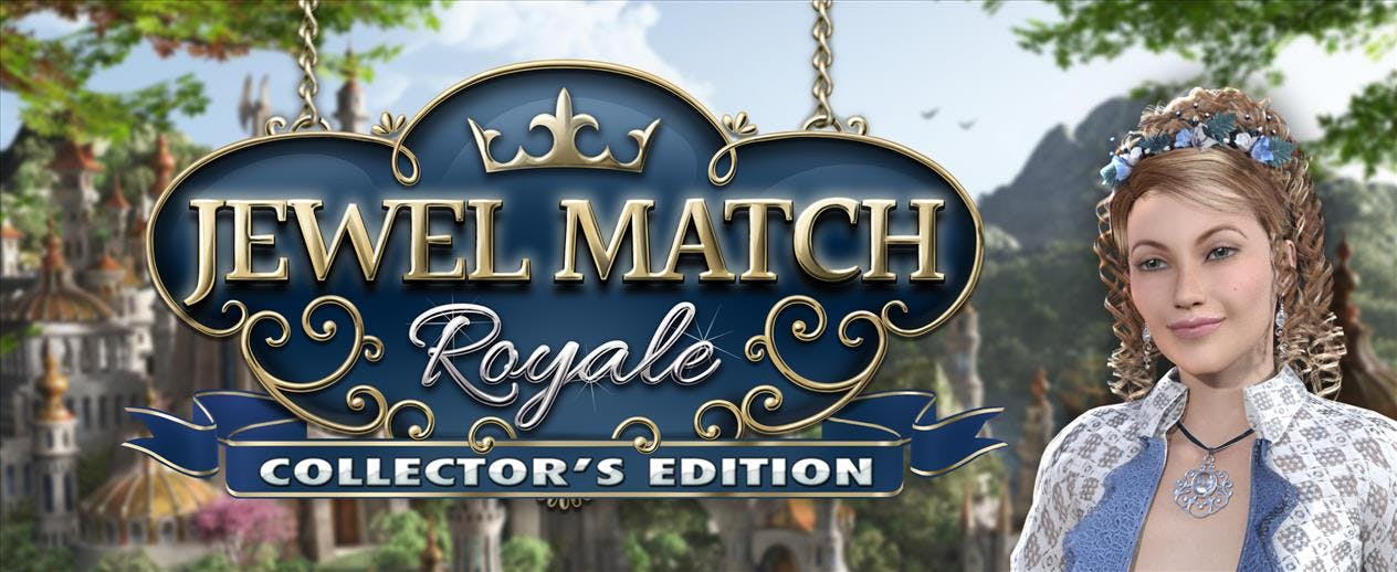 Jewel Match Royale Collector´s Edition - Play 160 clever match 3 levels!