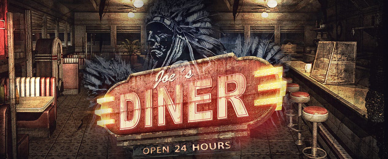 Joe's Diner - Can you survive the graveyard shift?