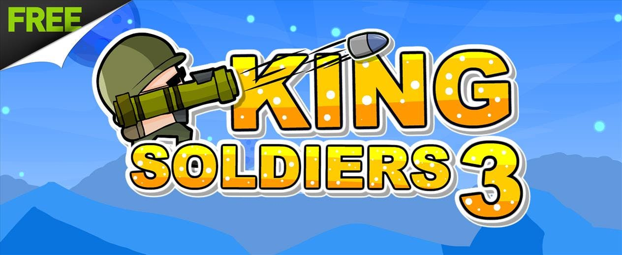 King Soldiers 3 - Earn 3 stars!