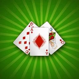 Klondike Solitaire - Play Klondike Solitaire, the classic card game, FREE! - logo