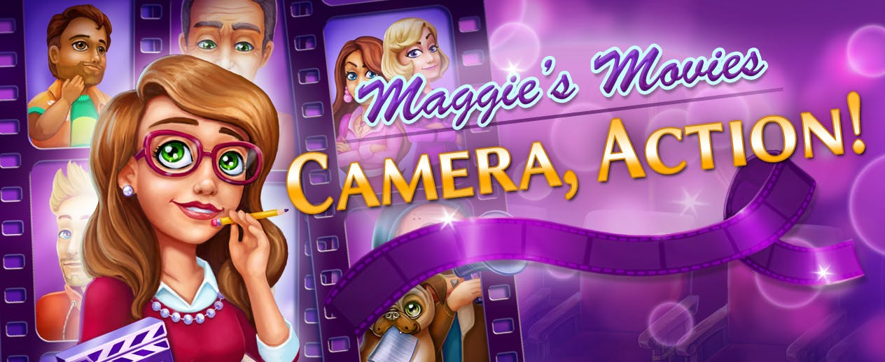 Maggie's Movies: Camera, Action! Collector's Edition - Maggie's Movies: Camera, Action! CE