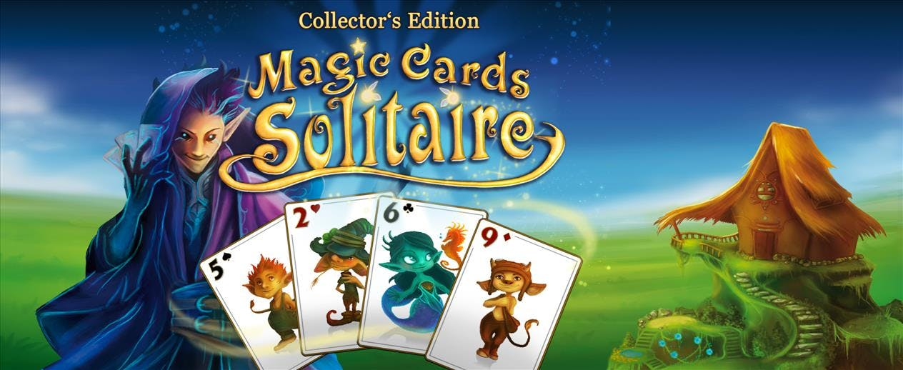 Magic Cards Solitaire Collector's Edition - A mystical, magical card game!
