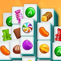 Mahjongg Candy - Tile-matching fans with a sweet tooth will love Mahjongg Candy! Play FREE now! - logo