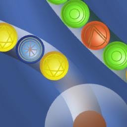 Marble Lines - Shoot your marble at the Marble Lines to match 3 in this FREE game! - logo