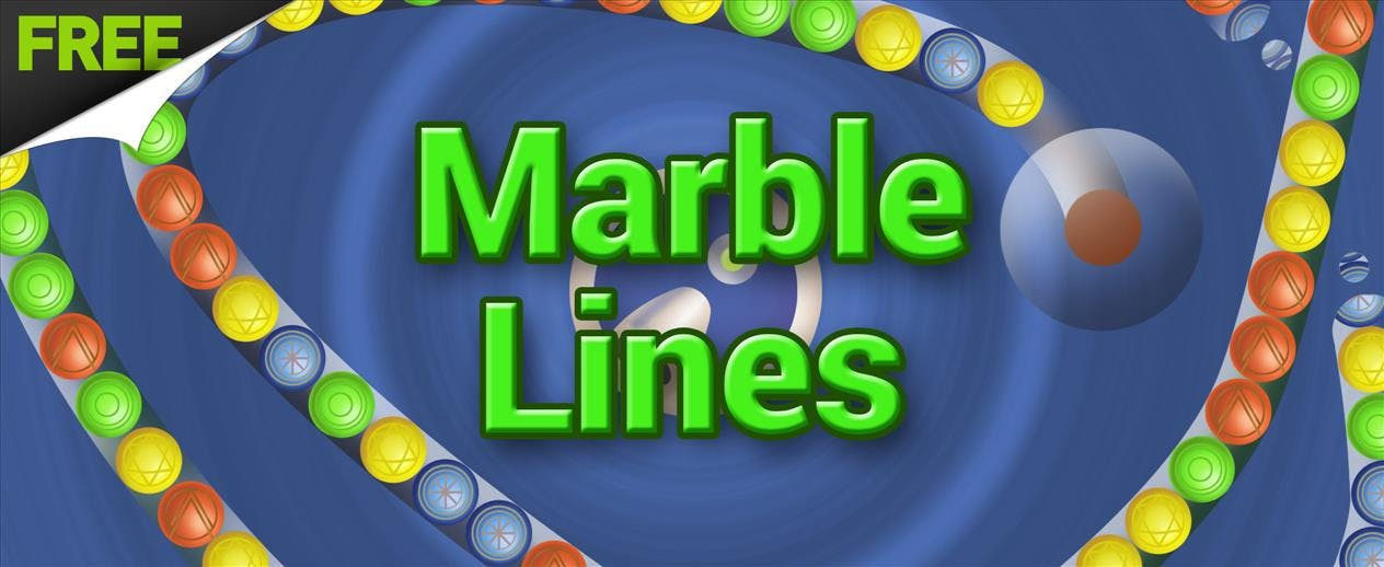 Marble Lines - Match 3 marbles FREE!