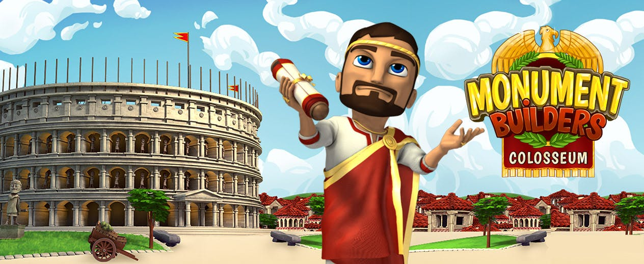 Monument Builders: Colosseum - It's history in the making!
