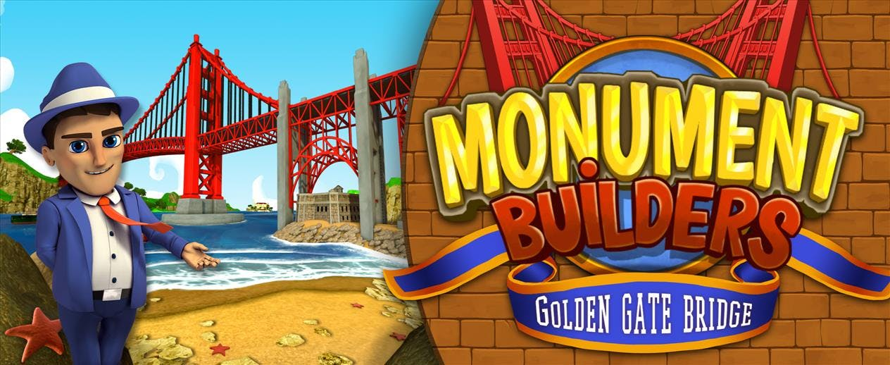 Monument Builders: Golden Gate Bridge - Will you finish this monument?