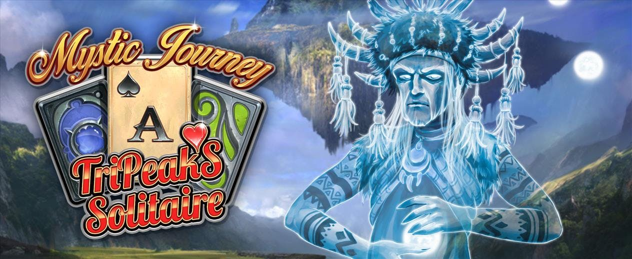 Mystic Journey: Tri Peaks Solitaire - Help Mary live again!