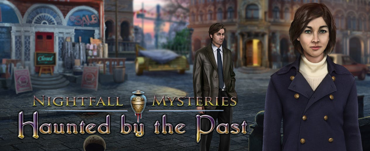 Nightfall Mysteries Haunted by the Past - Someone wanted him dead...